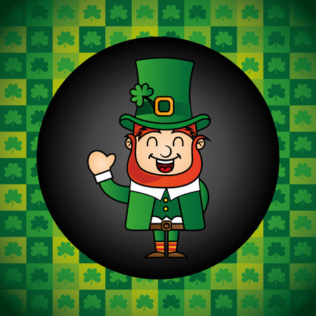 saint patrick day design, vector illustration eps10 graphic Vector