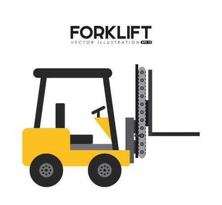 forklift design, vector illustration eps10 graphic