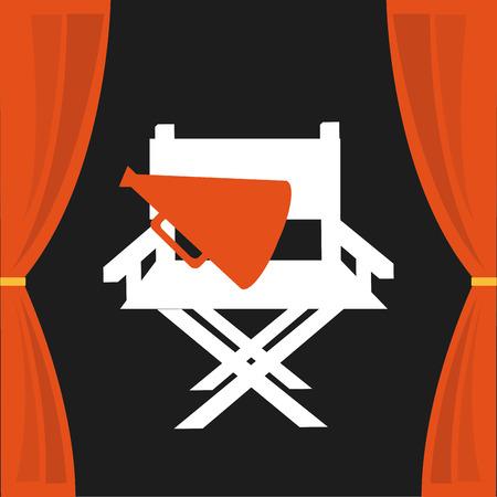 cinema icon design, vector illustration eps10 graphic