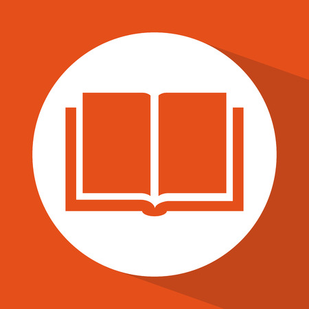 open book icon: book icon design, vector illustration eps10 graphic Illustration