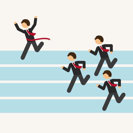 business man design, vector illustration eps10 graphic Ilustração