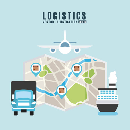 transport icon: transport logistics design, vector illustration eps10 graphic