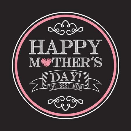 de la madre: feliz madres d�a dise�o, ilustraci�n vectorial gr�fico eps10 Vectores