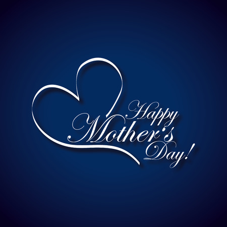 happy mothers day design, vector illustration eps10 graphic Illustration