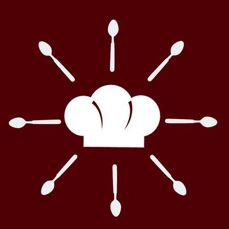 aliment: Food design over red background, vector illustration.