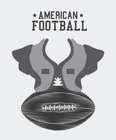 athletic wear: Sport design over white background ,vector illustration.