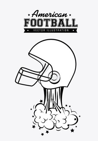 Sport design over white background ,vector illustration. Vector