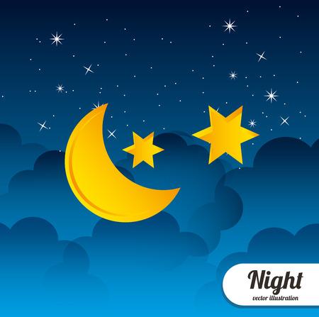 cloudscape: Night Cloudscape design