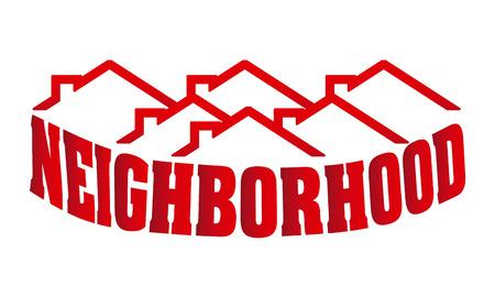 residential neighborhood: neighborhood design illustration