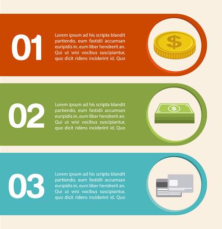 debit card: money infographics design illustration