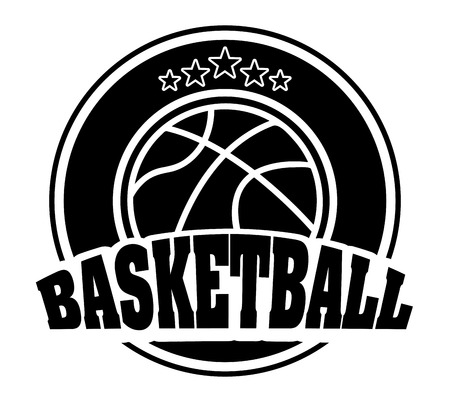 balon baloncesto: baloncesto deporte diseño ilustración Vectores