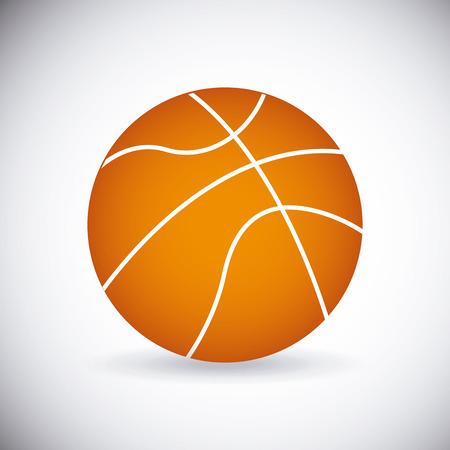 balon baloncesto: diseño de deporte de pelota de baloncesto