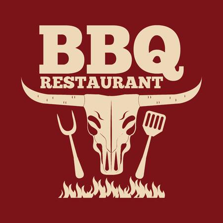 chunk: barbecue restaurant design illustration