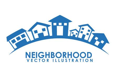 neighborhood design illustration