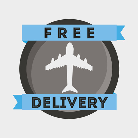 fast delivery: fast delivery design, vector illustration eps10 graphic