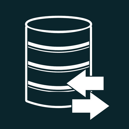 data center design, vector illustration  Vector