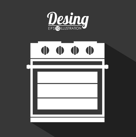 major household appliance: appliance icon design, vector illustration eps10 graphic