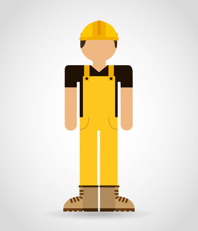 builder man design, vector illustration eps10 graphic Vector