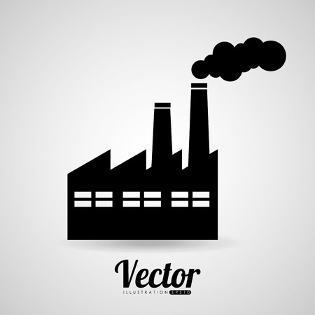 industria petroquimica: industria icono del dise�o, ilustraci�n vectorial gr�fico eps10