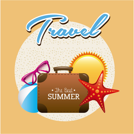 travel concept design, vector illustration  graphic Vector