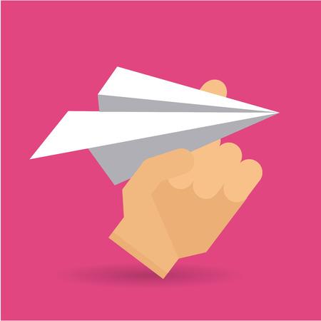 futurist: paper dreams design, vector illustration eps10 graphic