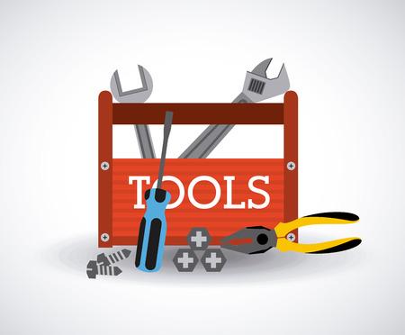 tools icon design, vector illustration  graphic Stock Vector - 36855967