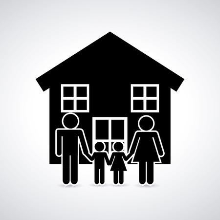 real state: real estate design, vector illustration eps10 graphic Illustration