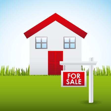 real estate design, vector illustration  graphic Vector