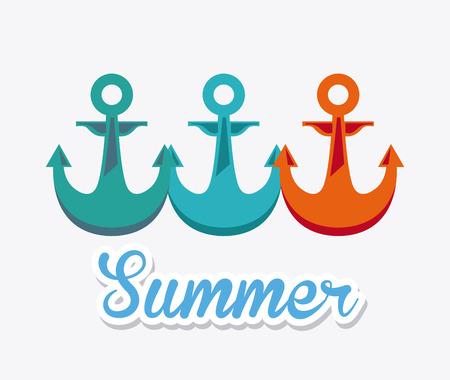 summer day: dise�o de d�a de verano, ilustraci�n vectorial gr�fico
