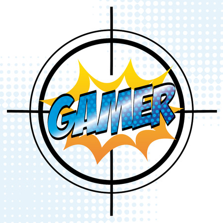 social actions: video gamers design, vector illustration graphic