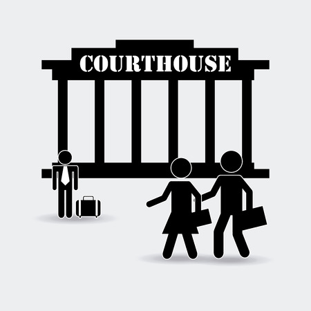 proffesional: justice concept design, vector illustration graphic