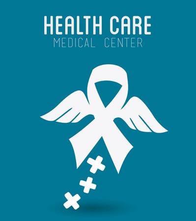 medics: Medical design over blue background, vector illustration.