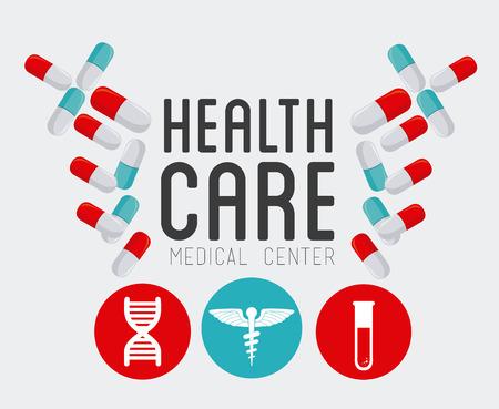 medics: Medical design over white background, vector illustration. Illustration