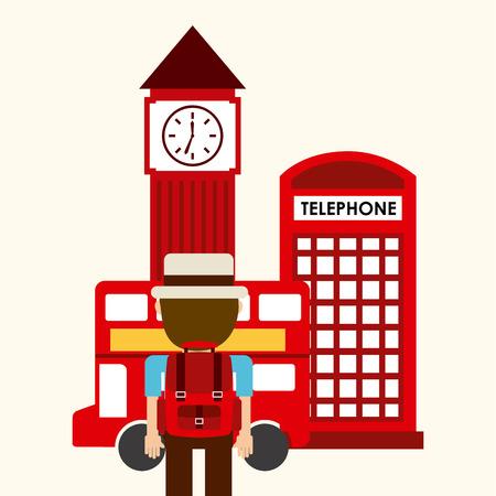 buss: holiday travel design, vector illustration