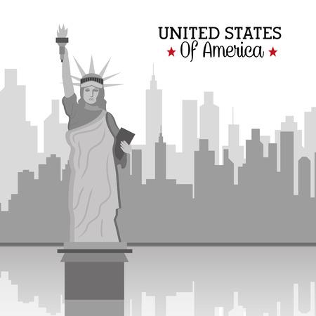 ny: USA design, vector illustration.