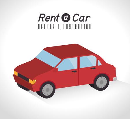 rent: Rent a car design, vector illustration.