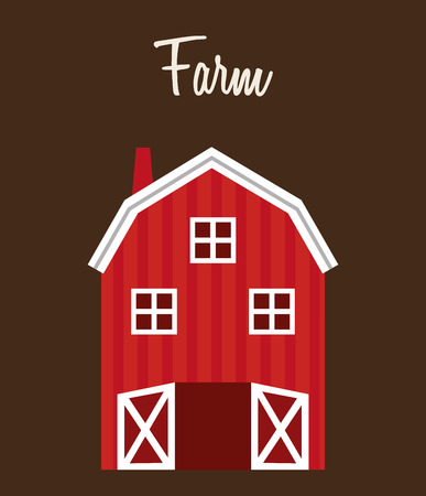 stables: farm stable  design, vector illustration eps10 graphic