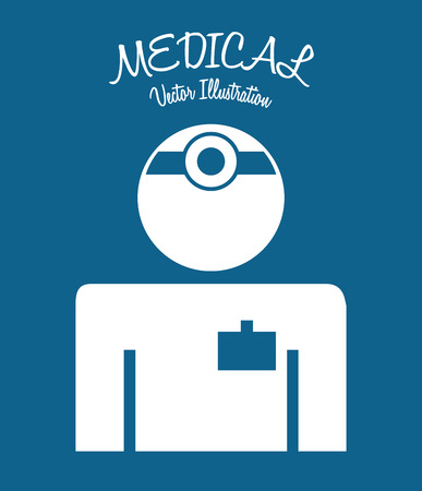 medical icon design, vector illustration eps10 graphic Vector