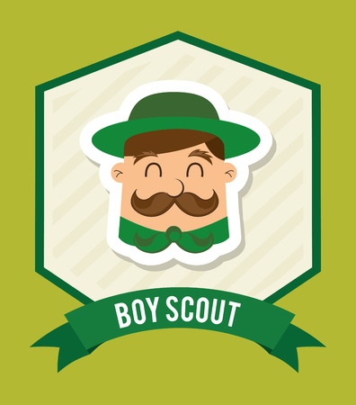 esploratori: Design boy scout Vettoriali