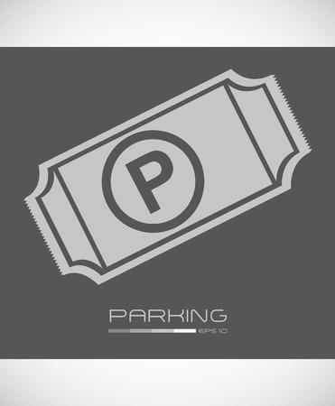 parking sign design