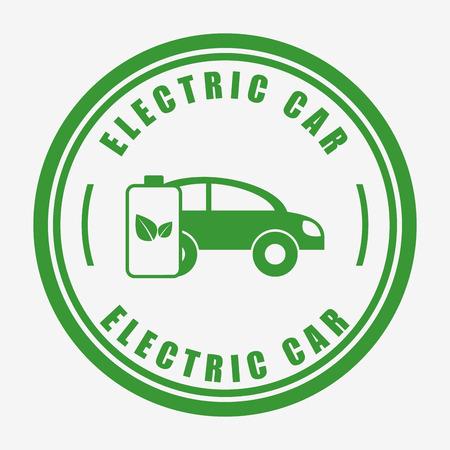 電気自動車の設計、ベクトル イラスト eps10 グラフィック  イラスト・ベクター素材