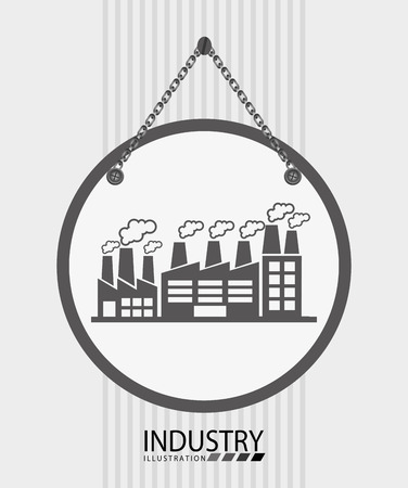 oil and gas industry: oil and gas industry design, vector illustration