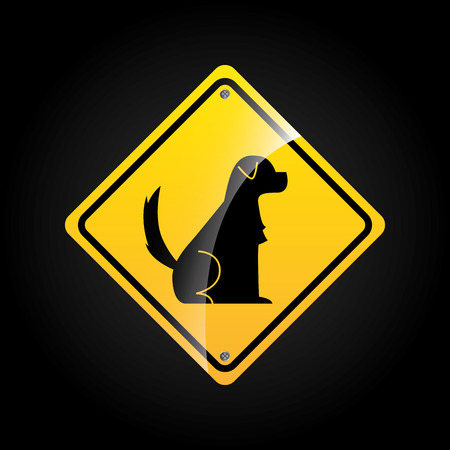 animal sign design, vector illustration eps10 graphic Vector