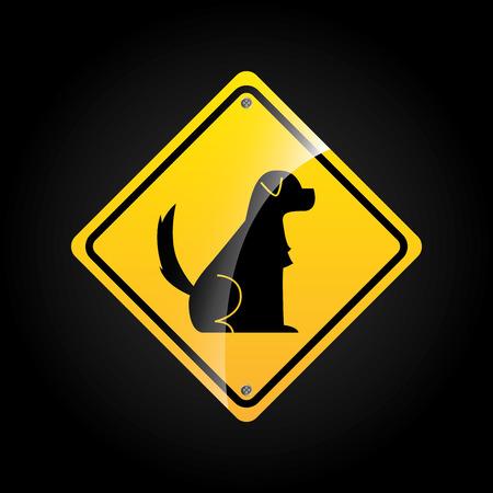 animal sign design, vector illustration eps10 graphic Vector
