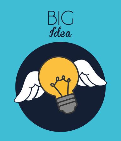 big idea design, vector illustration eps10 graphic Vector