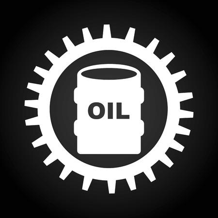 oil and gas industry: oil and gas industry design, vector illustration eps10 graphic Illustration