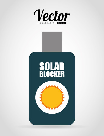 sun block: sun block design, vector illustration eps10 graphic