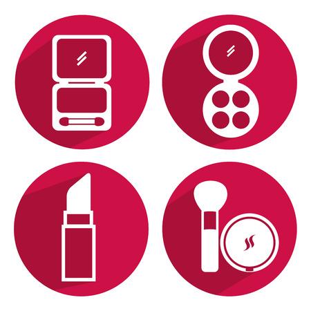 kit design: makeup kit design, vector illustration eps10 graphic