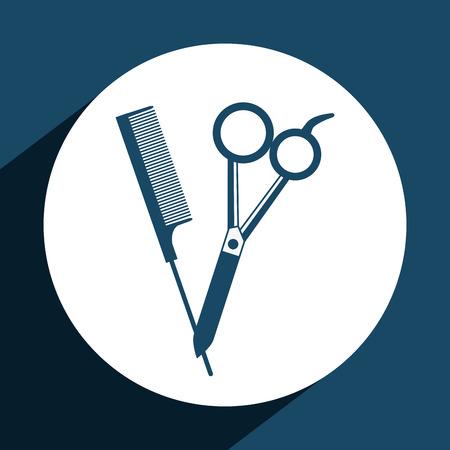 barber: barber shop  design, vector illustration eps10 graphic