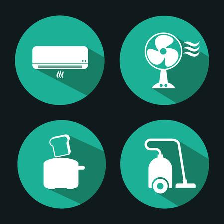home appliances design, vector illustration eps10 graphic